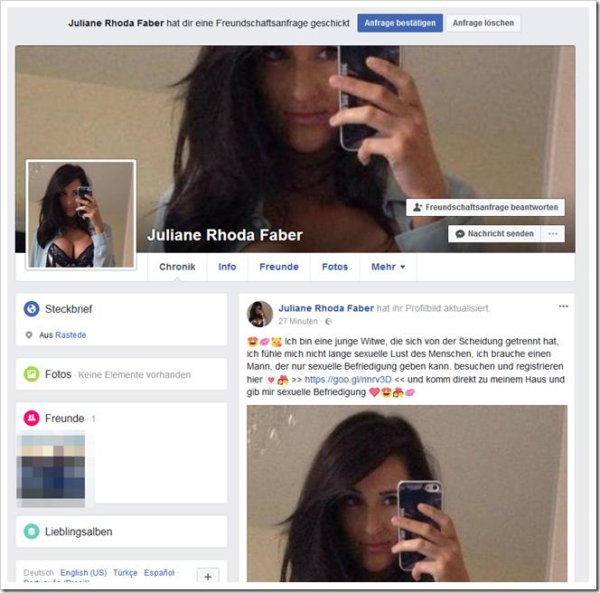 Annehmen automatisch facebook freundschaftsanfrage So nicht!