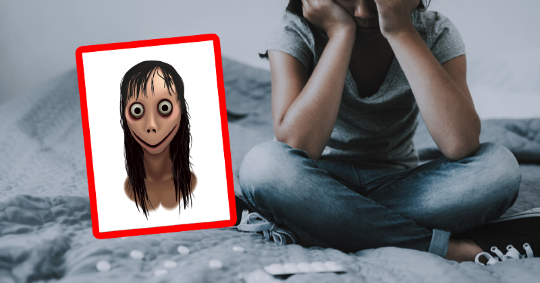 Gruselfigur Momo