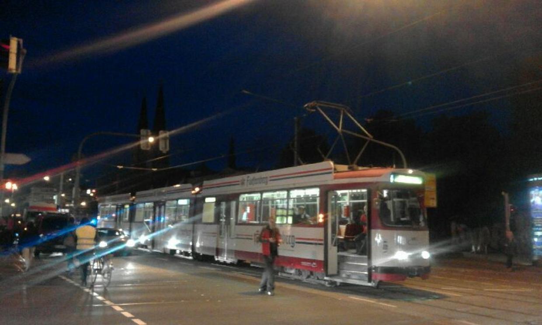 Straßenbahnunfall Freiburg