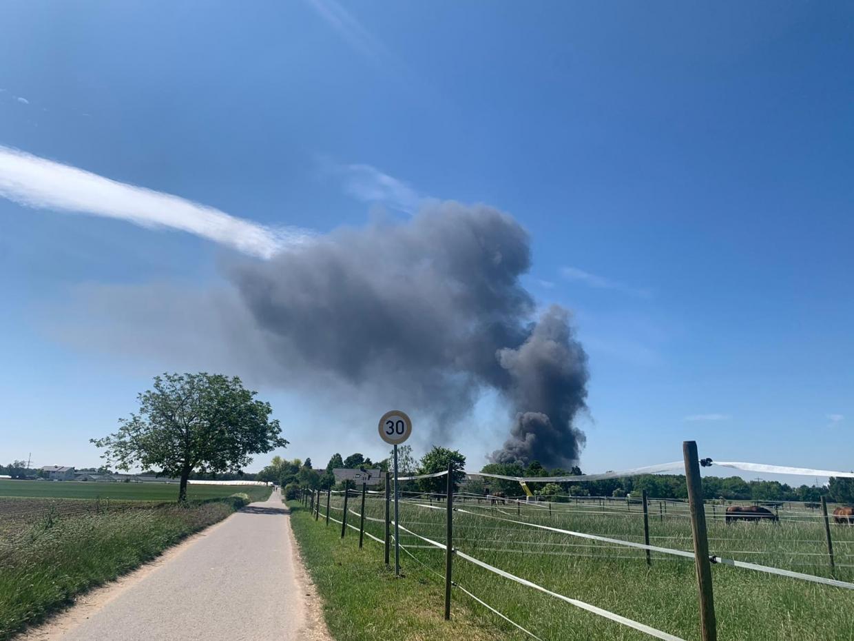Ladenburg Brand Aktuell
