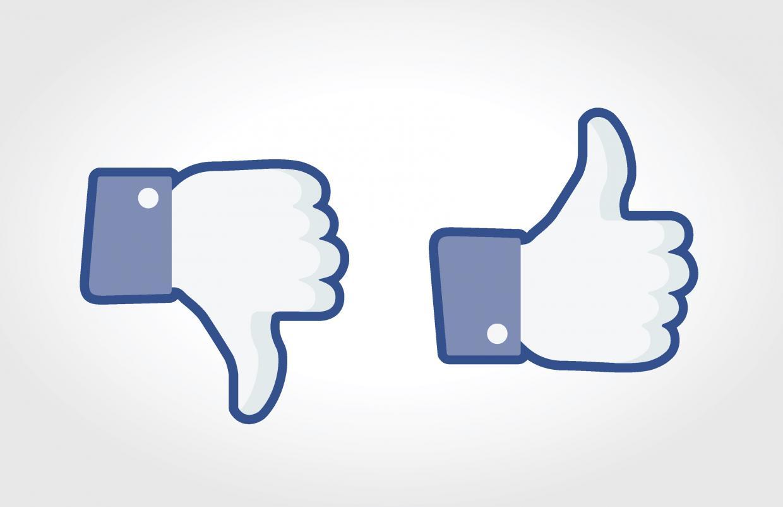 Daumen runter über Facebook Messenger | Radio Regenbogen