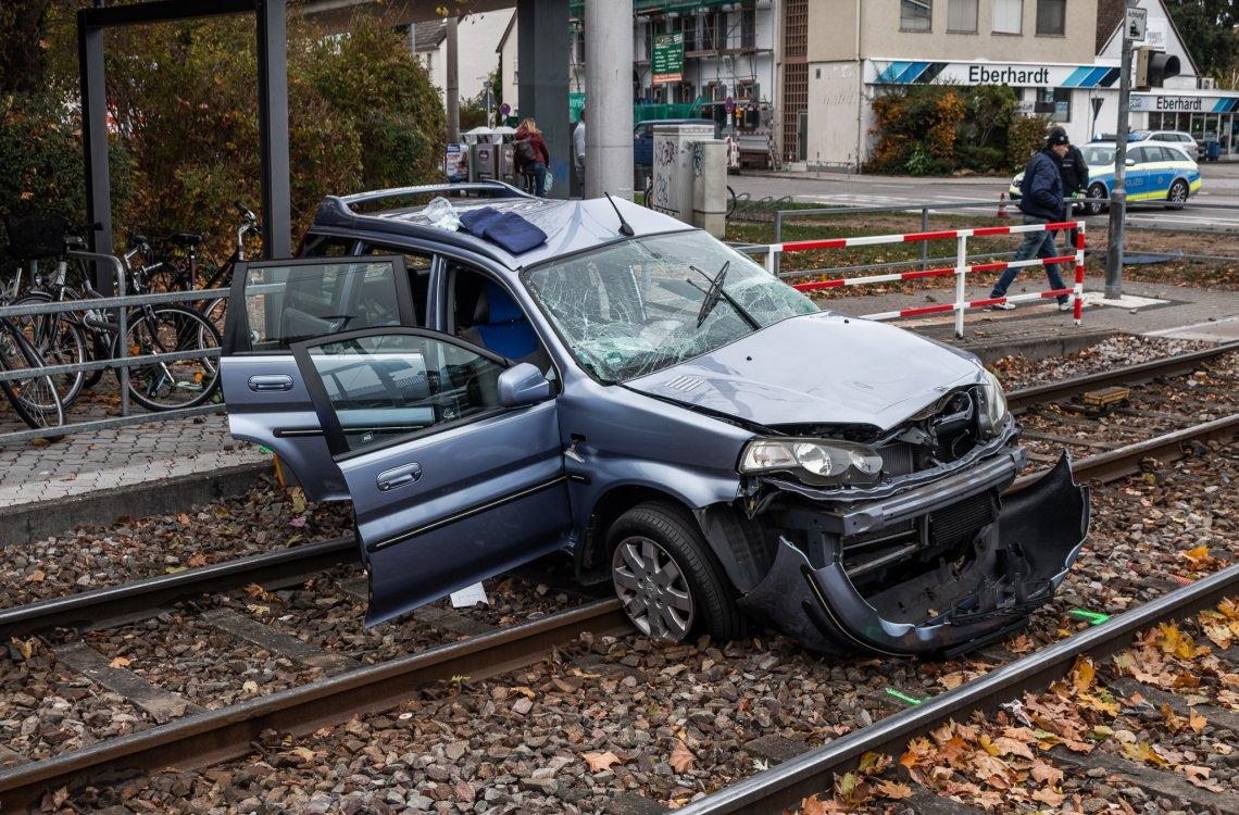 Verkehrsunfall Karlsruhe