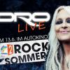 Regenbogen Zwei Rocksommer: Doro live im Autokino!