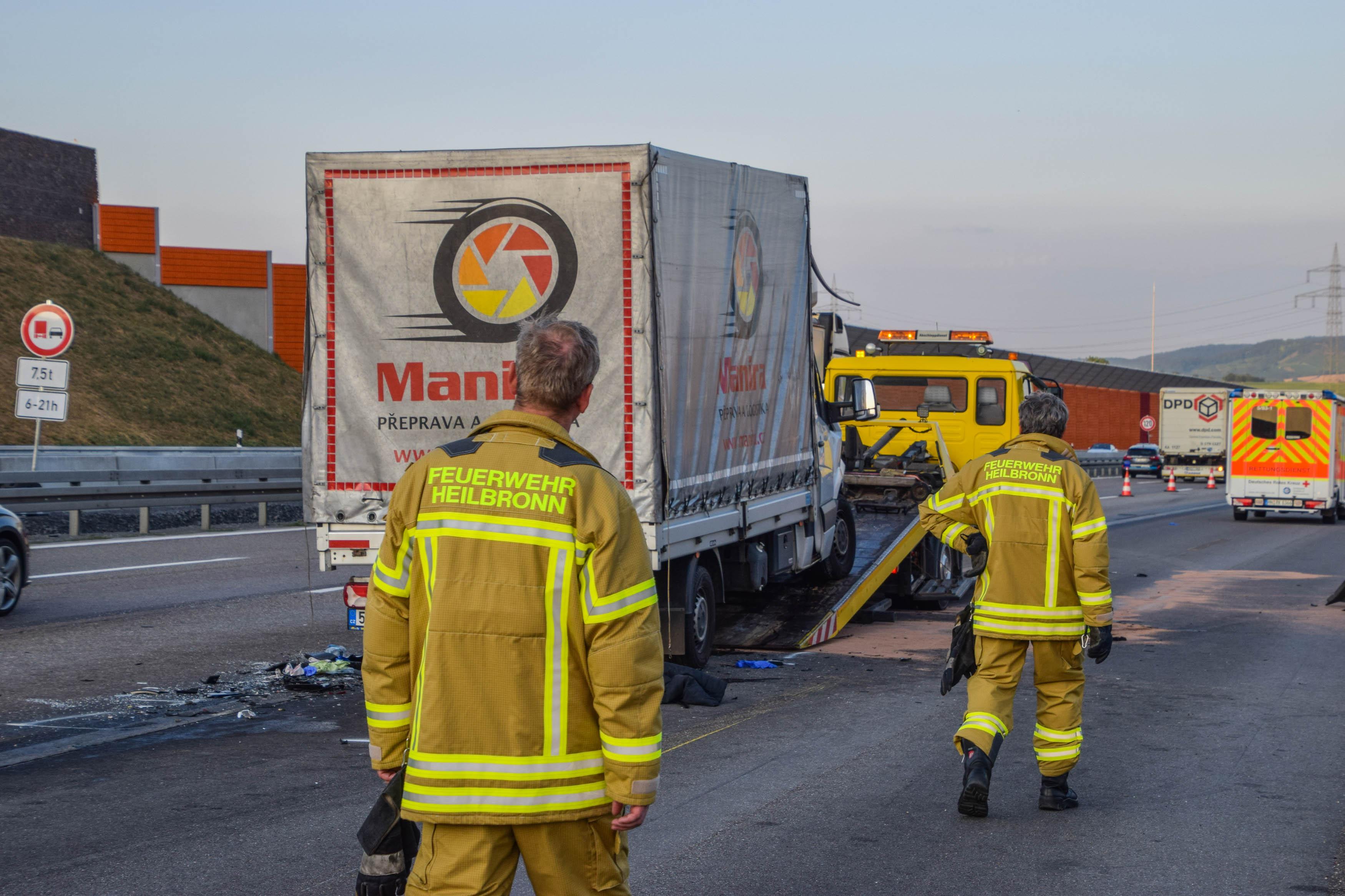 A6 Tödlicher Unfall Bei Heilbronn Radio Regenbogen